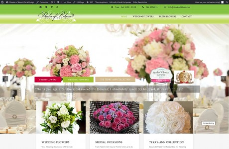 Shades of Bloom Floral Design